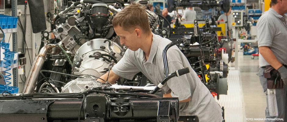 Bildelstillverkaren Magna öppnar nytt aluminiumgjuteri