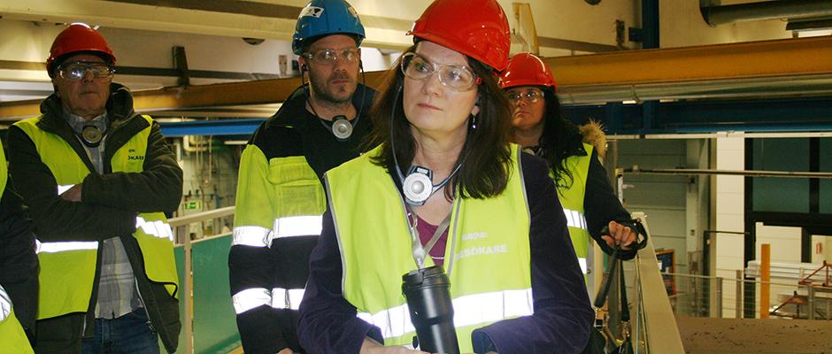 Svenskt Aluminium uppvaktar handelsminister Ann Linde om amerikanska aluminiumtullar