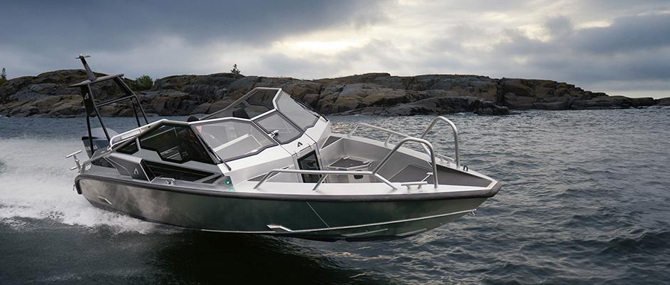 Anytec A27 – Boat of the Show på Helsingfors internationella båtmässa – Vene 18