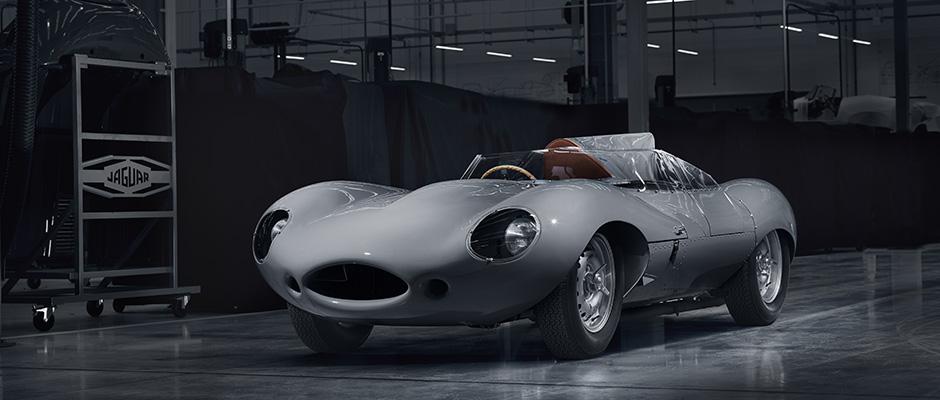 Jaguar bygger 62 år gammal modell