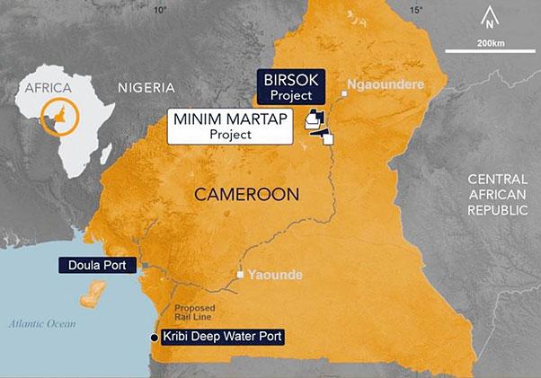 Hög kvalitet på bauxitprover från Kamerun