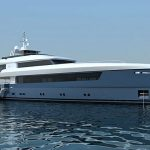 Philippe Briand  designar båt med aluminiumskrov och överbyggnad