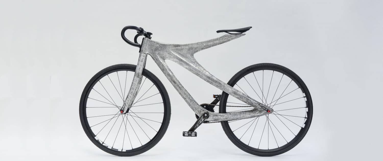 Lätt aluminiumram på cykel med WAAM