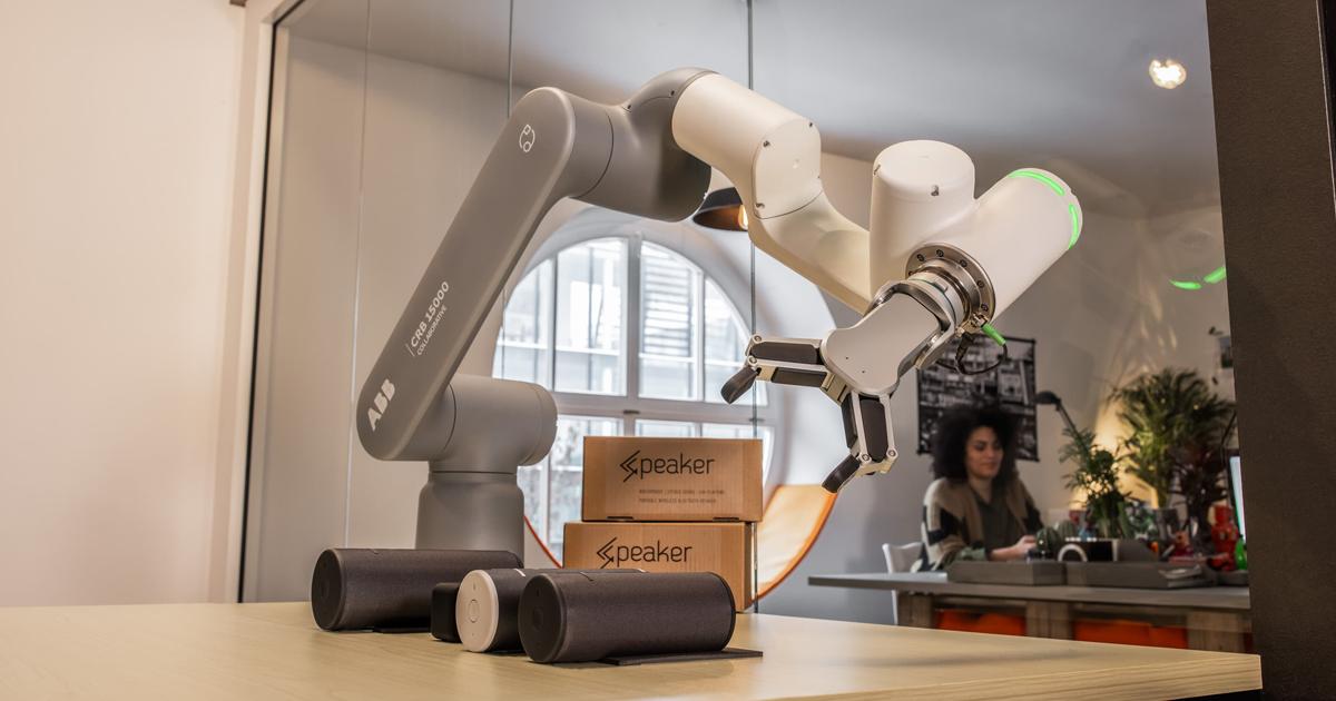 Roboten GoFa får  designutmärkelse